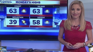Kristen December 25th 5pm forecast - Video