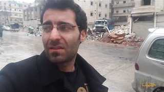 Smoke Rises After Strikes on 'Ghost City' of Aleppo - Video