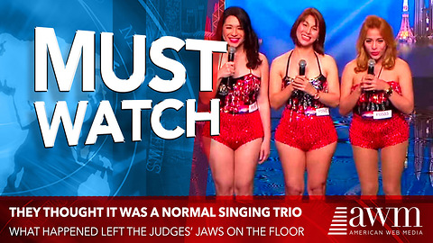 They Thought It Was A Normal Singing Trio. But What Happened Left The Judges' Jaws On The Floor