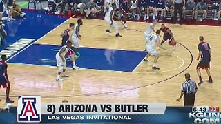 Butler knocks off No. 8 Arizona, 69-65 - Video