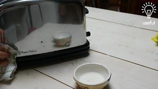 How to clean metal appliances with cream of tartar - Video