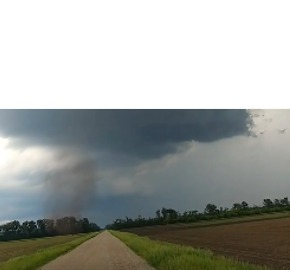 Funnel Cloud Forms Southwest of Grand Forks - Video