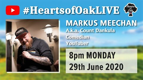 Livestream with Markus Meechan aka Count Dankula 29.6.20