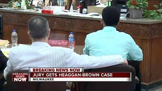 Jury gets Haggan-Brown case - Video