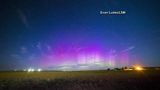 Look up! Northern Lights spectacle possible Sunday night - Video