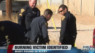 TPD investigating homicide on south side after man's body set on fire - Video