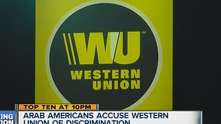Arab Americans accused Western Union of discrimination - Video