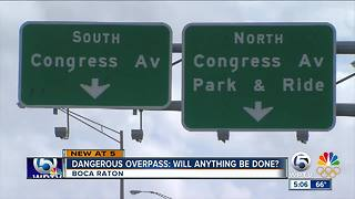 Dangerous overpass in Boca Raton: Will anything be done? - Video
