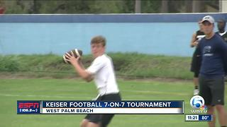 Keiser Football Seven-on-Seven Tournament - Video