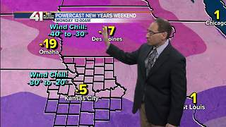 Jeff Penner Saturday Night Forecast Update 12 30 17 - Video