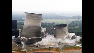 Massive Tower Demolition