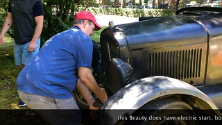 Delightful Sunday Drive in a Model T Ford  - Video