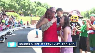 WATCH | Emotional military reunion at Legoland