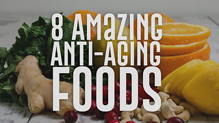 8 Foods that will Keep Your Skin Looking Young & Healthy (3) - Video