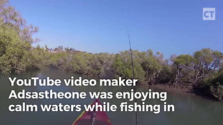 Kayaker Catches $100,000 Wreck On Video - Video