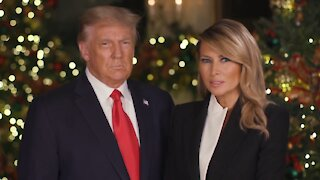 🔴 Merry Christmas Message from President Trump and the First Lady