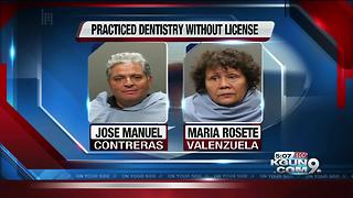 Two indicted for allegedly operating as unlicensed dentists - Video