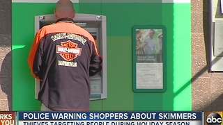 Harford deputies warn shoppers of thieves using ATM skimmers - Video