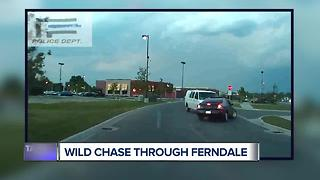 Wild chase through Ferndale - Video