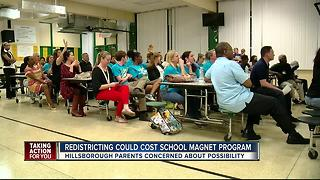 Parents fight to keep Cahoon Elementary School a magnet school - Video