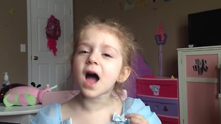 3-year-old adorably covers Miley Cyrus - Video