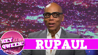 RuPaul on Hey Qween! With Jonny McGovern