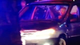 WATCH: Suspect tries to get away from OPD during wild police chase