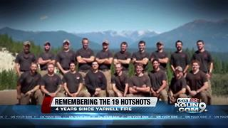 Remembering the Granite Mountain Hotshots four years later - Video