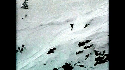 Snowboarder Hit By Avalanche