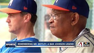 "Remembering ""Mr. Motley,"" a Ban Johnson legend - Video"