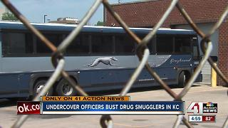 Nearly 30 pounds of meth, fentanyl found at Kansas City bus station - Video