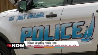 Thieves targeting Honda tires - Video