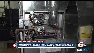Maintaining the heat and keeping your family safe and warm when the temps drop - Video