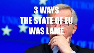 3 reasons why the European State of the Union was lame - Video