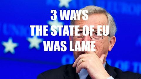 3 reasons why the European State of the Union was lame