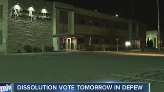 Depew dissolution decision remains divided - Video