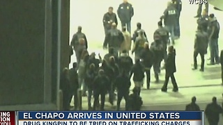 El Chapo arrives in United States - Video