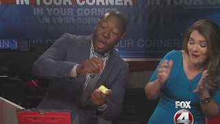 Fox 4's Malcolm Johnson takes on the Apple Challenge - Video