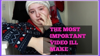 THE MOST IMPORTANT VIDEO I'LL EVER MAKE! - Video