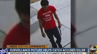 Surveillance video helps to capture Scottsdale murder suspect - Video
