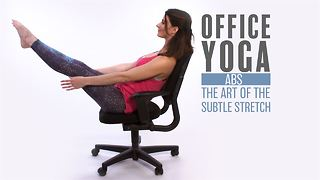 Office Yoga: Abs aka