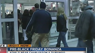 Black Friday begins at many stores around Las Vegas valley - Video