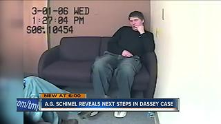 Wisconsin AG details next step in Dassey case