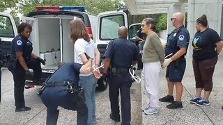 Activists Arrested During Healthcare Protest at Senate Building - Video