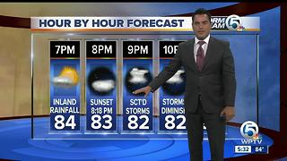 Wednesday night forecast