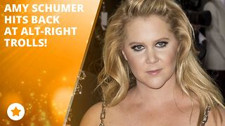 Amy Schumer blames the alt-right for poor reviews - Video