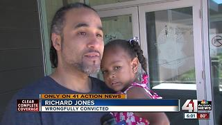 Wyandotte County man wrongfully convicted of robbery goes free after 17 years - Video