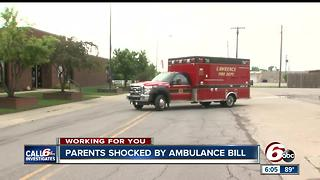 CALL 6: Lawrence family surprised by ambulance bill - Video