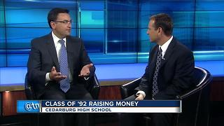 Cedardburg class of '92 raising scholarship money - Video