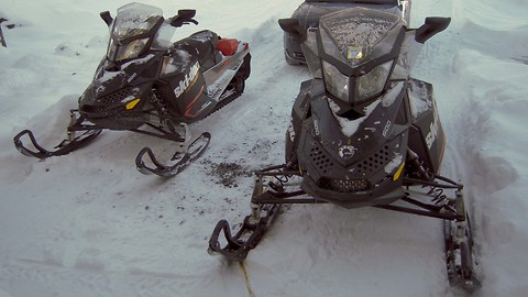 Zoomin' Ski-Doo time, come for a ride!